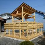 長島・A邸 物干しだけに使うにはもったいないくらいの日当たりの良さ。