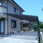 東員町・O邸 壁固定型の特注テラス