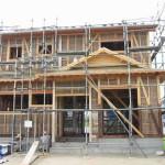 江場・M邸 建物の強度を高める柱構造