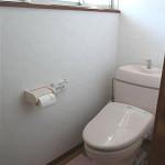 明正通り・M邸 明るい洋式トイレに